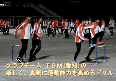 トレーニングセミナー第7回 「強豪チームの基礎ドリル」を探る ~TSM~(月刊陸上競技2019年12月号掲載)