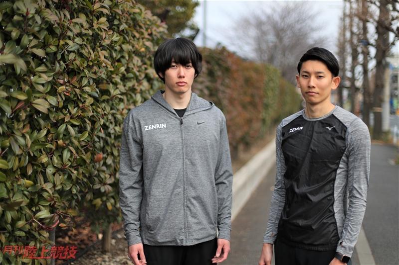 【誌面転載】ALL for TOKYO 2020/ゼンリン日本記録保持者コンビ。自然体で挑むオリンピックイヤー
