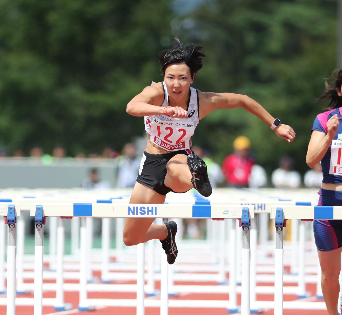 トップアスリートから学ぶトレーニングのヒント 女子100mH 寺田明日香
