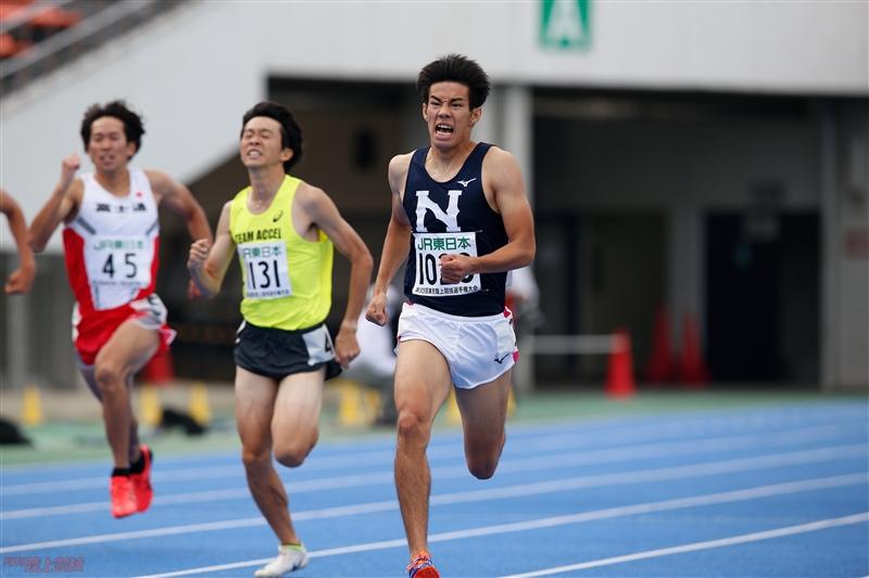 未完の大器、日大・井上大地が復活の兆し 東京選手権