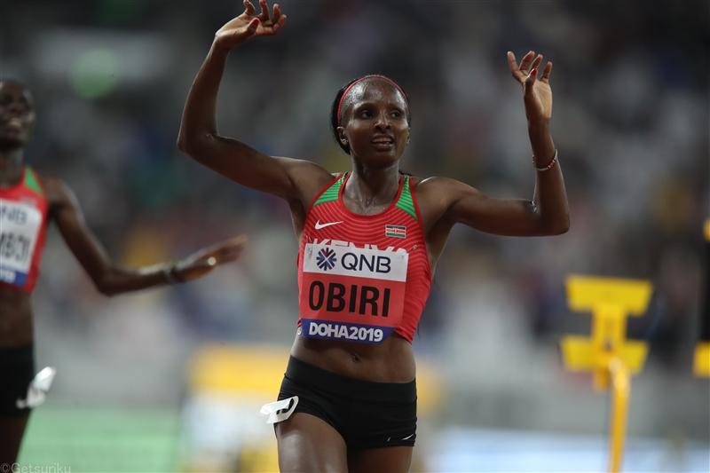 【海外】オビリが女子3000m8分22秒54でV 女子800mはキピエゴンが自己新で制す/DLドーハ