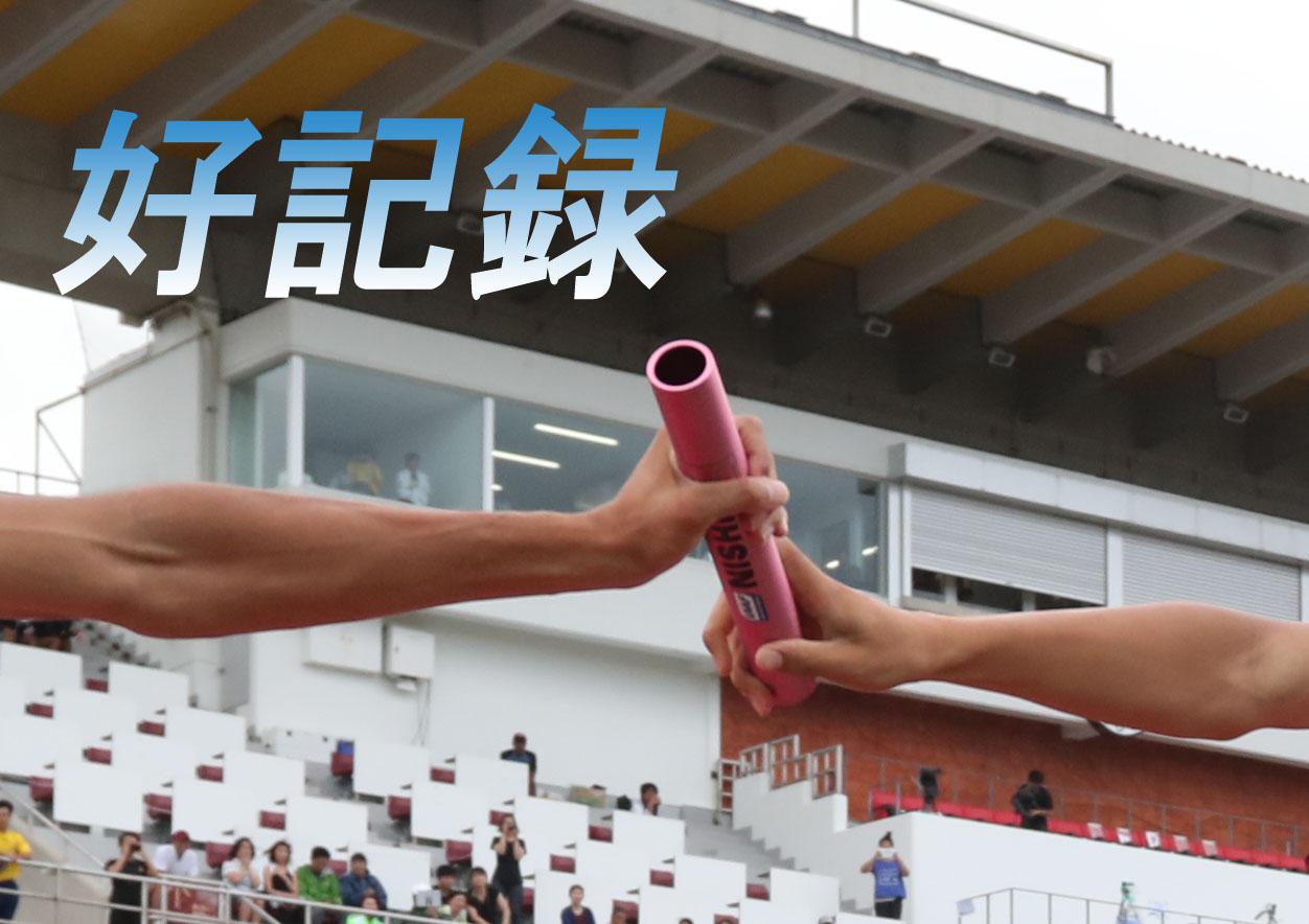 【男子110mH】西徹朗(名古屋高2愛知)が高2歴代6位の14秒13