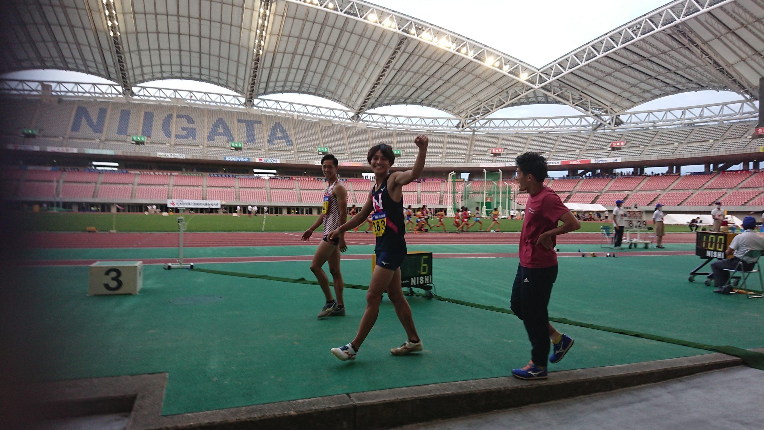 【走幅跳】橋岡が8m29大会新V/日本IC