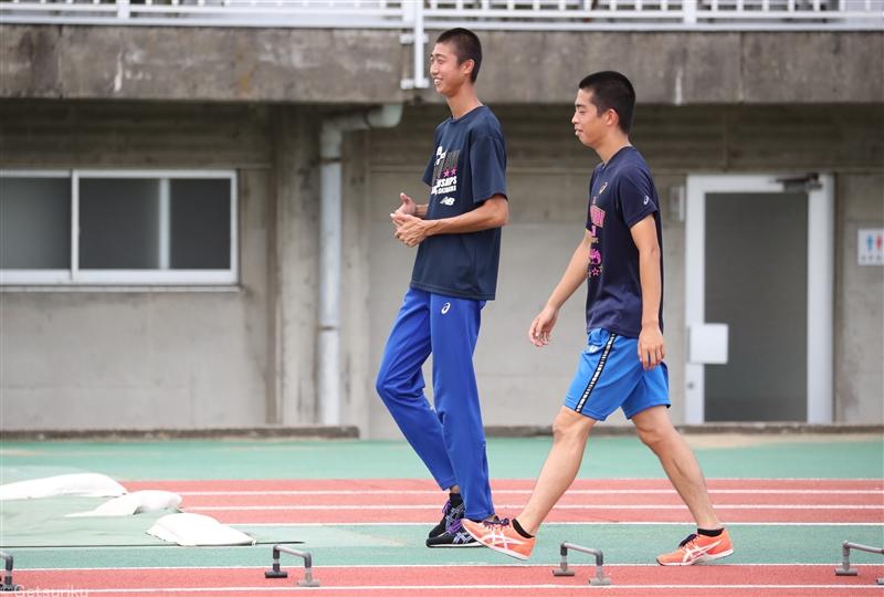 【高校生インタビュー】藤原孝輝(洛南)「まずは8mをもう一度跳びたい」