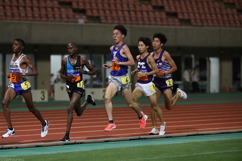 【長距離】男子10000m日本人トップは田澤 西山も復調/日本IC