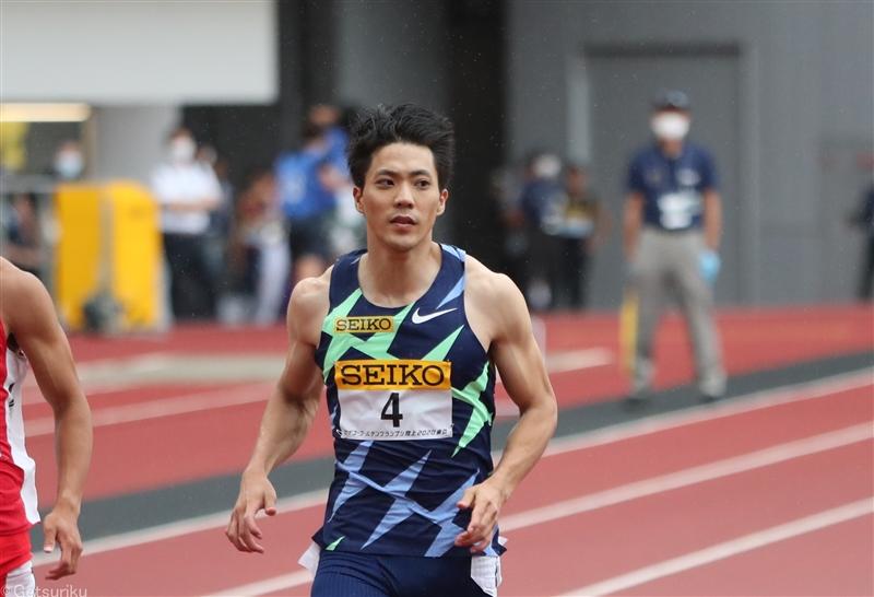 【TF】100m・山縣亮太、日本選手権を欠場 ウォルシュ、戸田らの欠場も発表