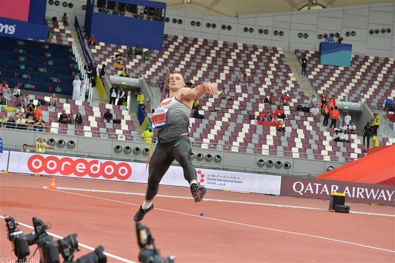 やり投フェッターが今季世界最高の91m50!400m専門のカーリーが9秒91マーク