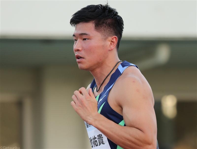 【短距離】小池祐貴、全日本実業団欠場へ 次戦は10月日本選手権