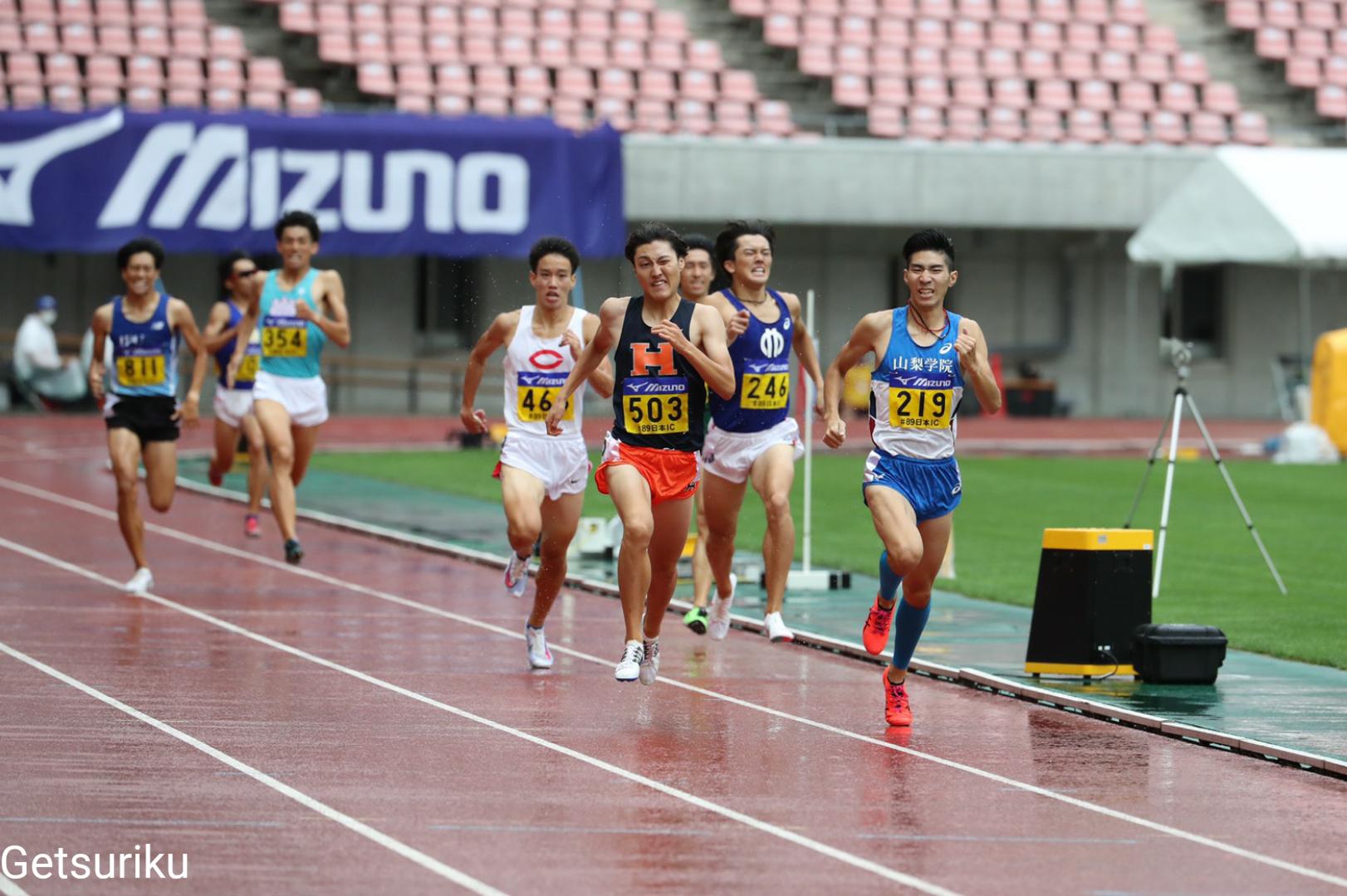 【800m】法大・松本が1分47秒02!学生歴代4位/日本IC