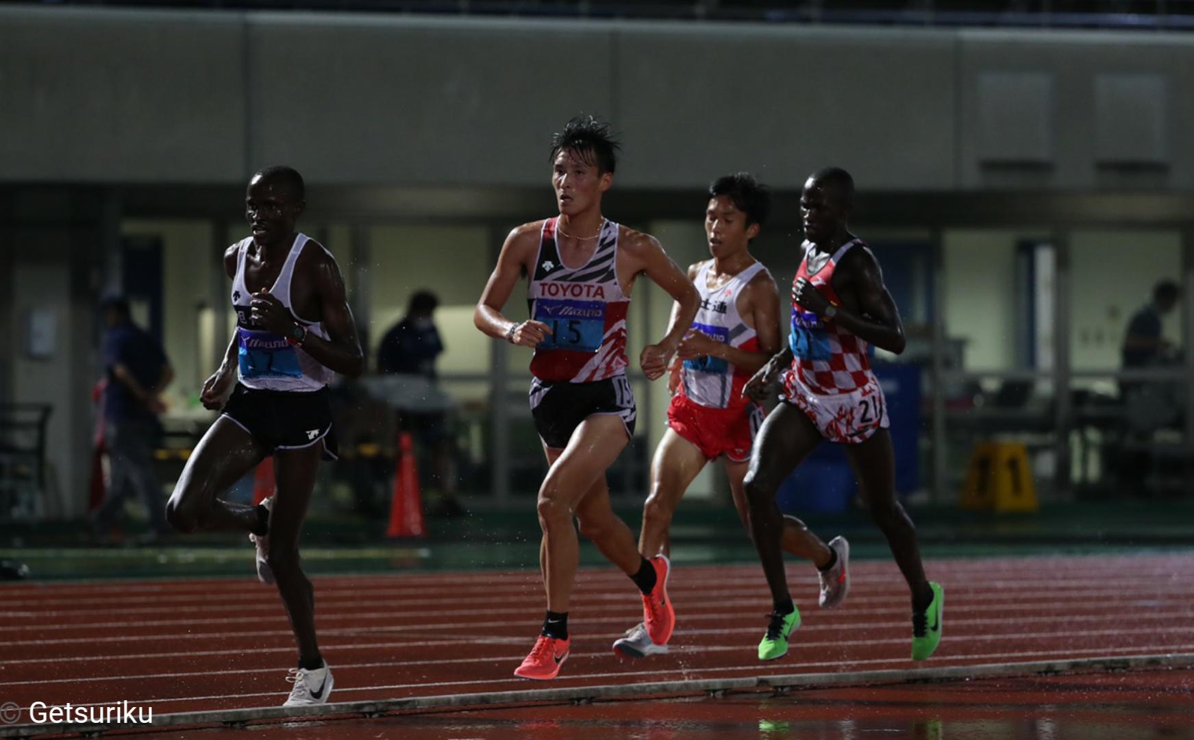 【長距離】10000m服部勇馬が27分47秒55で日本人トップ/全日本実業団