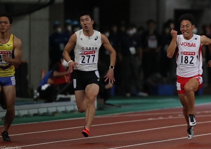 【100m】決勝に役者そろう 桐生「最後の10m焦らなければ行ける」準決勝10秒27/日本選手権