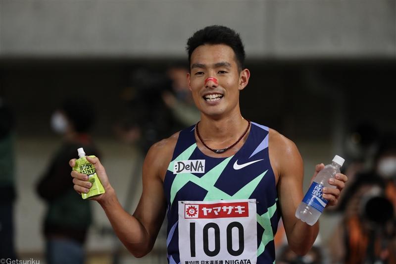 【1500m】館澤亨次が2年ぶり3回目V「勝ちに行くレースで勝てた」/日本選手権