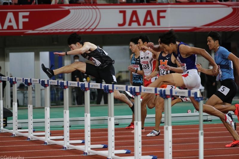 【110mH】高山、金井が準決勝をトップで通過 決勝で火花/日本選手権