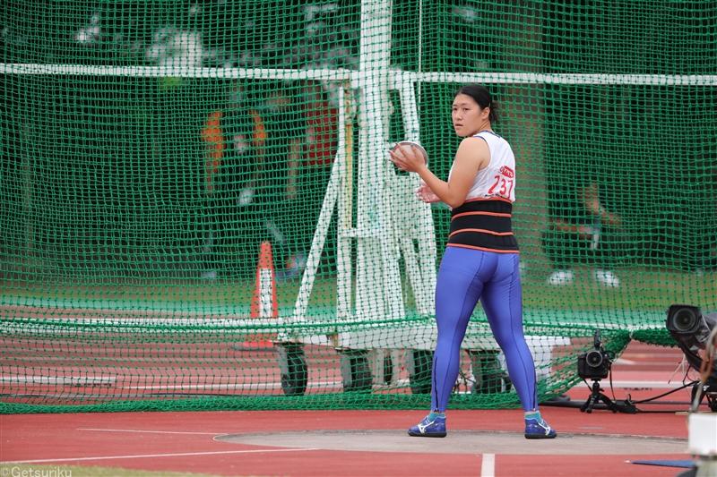【円盤投】齋藤真希が2年ぶりV 学生歴代2位の55m41/日本選手権