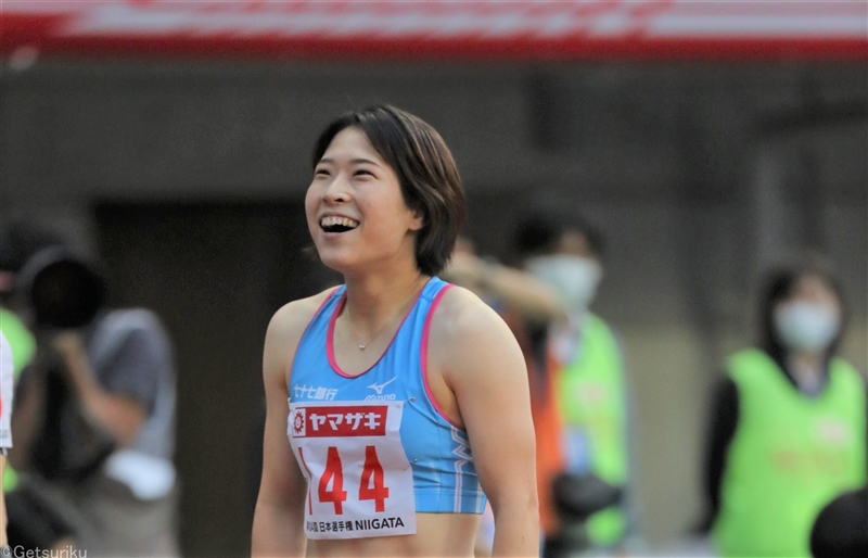 【100mH】青木益未13秒02で2年ぶり2度目V「来年が勝負」/日本選手権