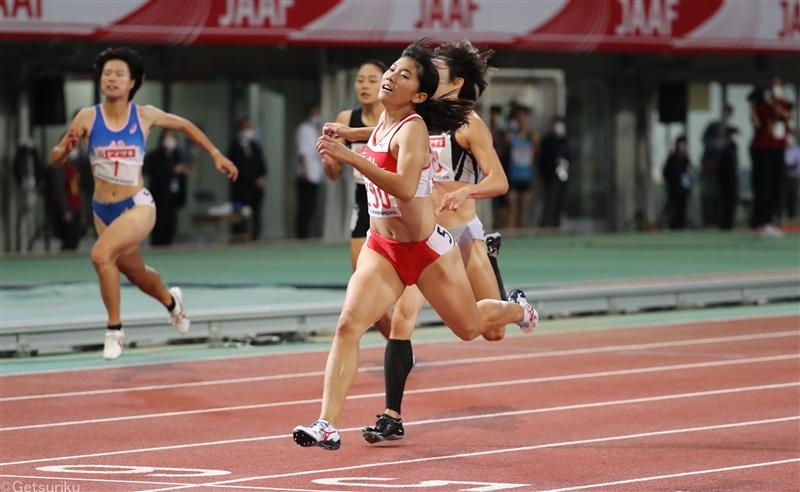 【200m】100m女王・兒玉は2位も自己新 女子短距離新時代に突入/日本選手権