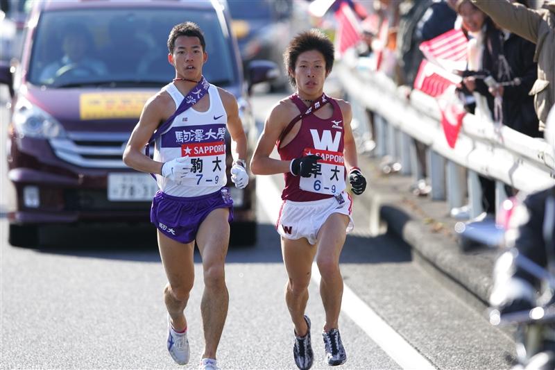 PlayBack箱根駅伝2008/9区で逆転した駒大が3年ぶりに王座奪還