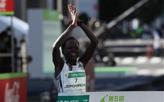 【海外】ジェプチルチルが女子単独世界新で優勝 ー 世界ハーフマラソン選手権