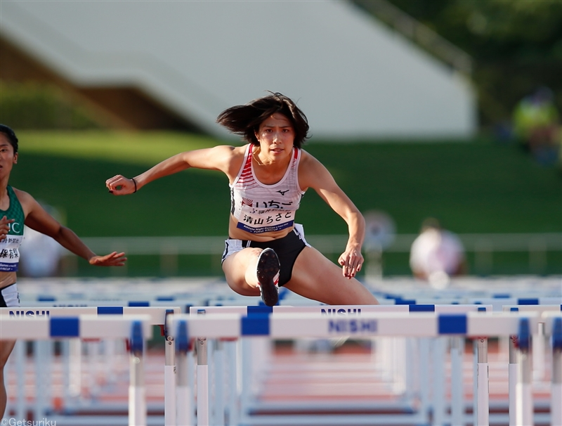 【TF】短距離の藤光、100mH清山、走幅跳・中野瞳が日本選手権欠場