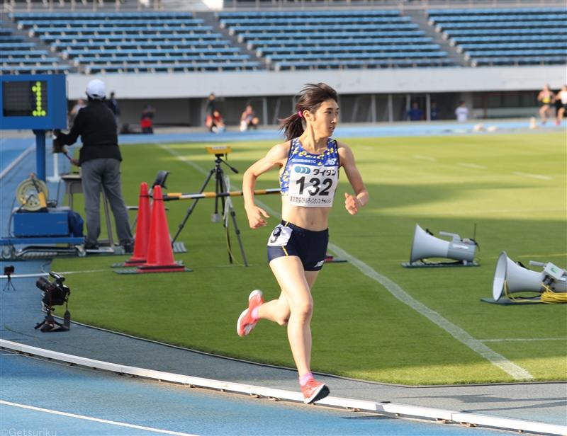 【長距離】田中希実が1500mに出場して4分10秒41日本選手権に向け「勝つことを意識」