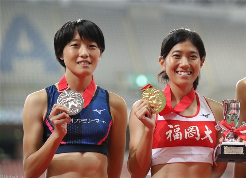 【リレー】兒玉、鶴田が初タッグの女子4継日本選抜44秒00/木南記念