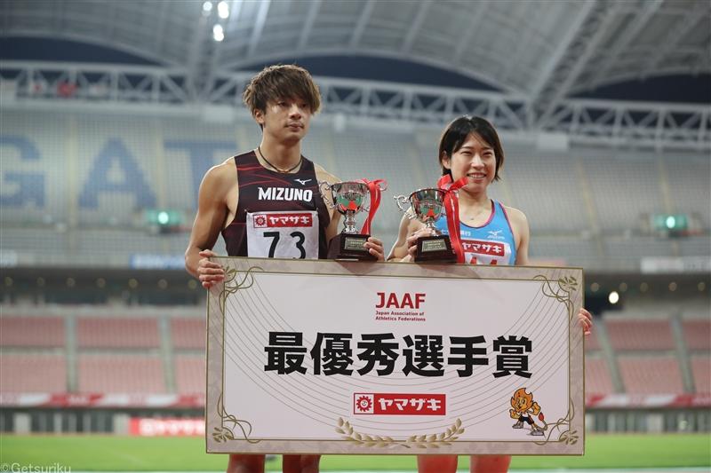 【TF】日本選手権MVPは金井&青木 大会タイ2つ、初V15種目