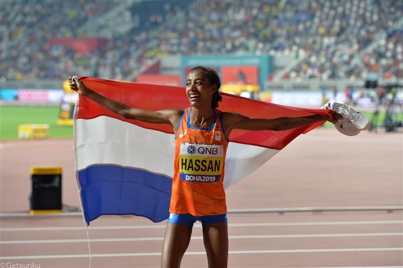 【海外】ドーハ2冠ハッサン 10000mで世界歴代4位の29分36秒67