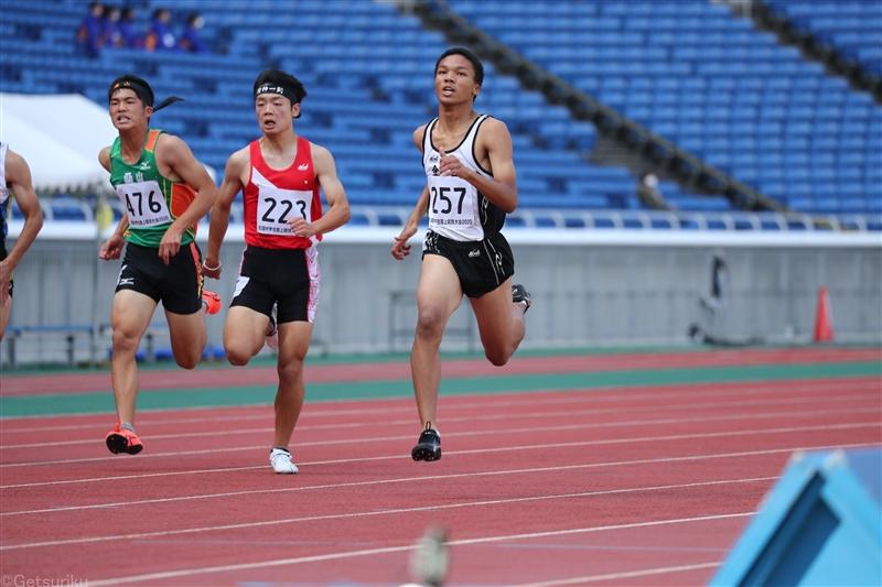 【200m】津田伊万が21秒台連発で初タイトル/全国中学