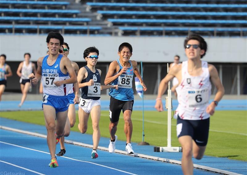 【マラソン】川内優輝が800mと1500mで力走 福岡国際マラソンに向け手応え