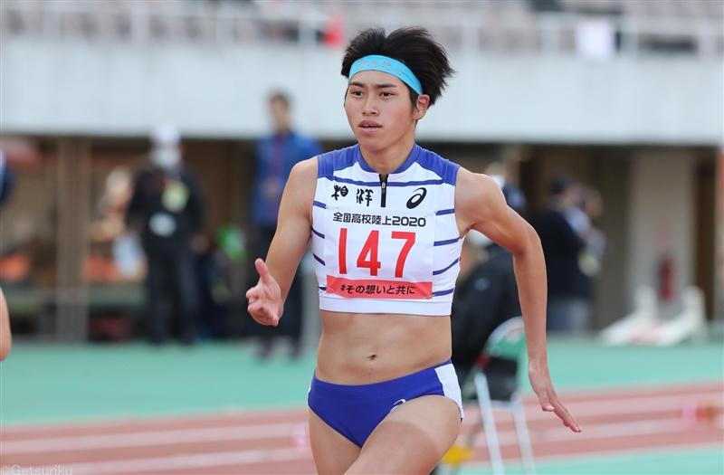 【短距離】石川優が11秒56! 高校歴代4位タイの快走「11秒5台が目標だった」/全国高校