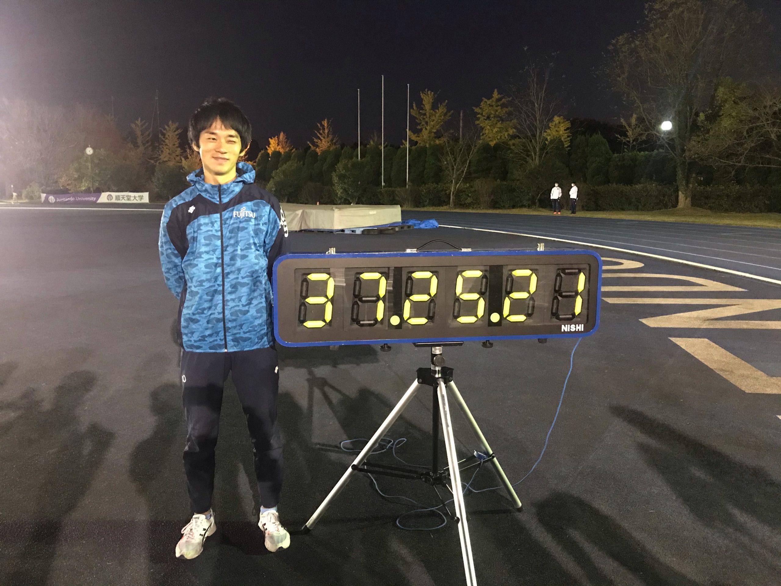 【競歩】東京五輪代表・高橋英輝が10000m競歩で37分25秒21世界最高記録を上回る