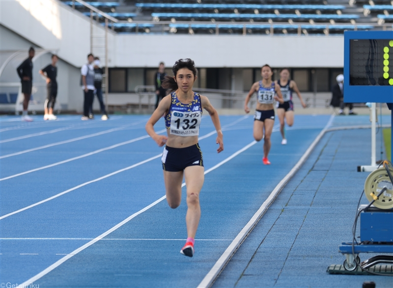 【長距離】田中希実が5000m15分22秒39で組2着 12月の日本選手権で勝てば五輪内定/デンカチャレンジ