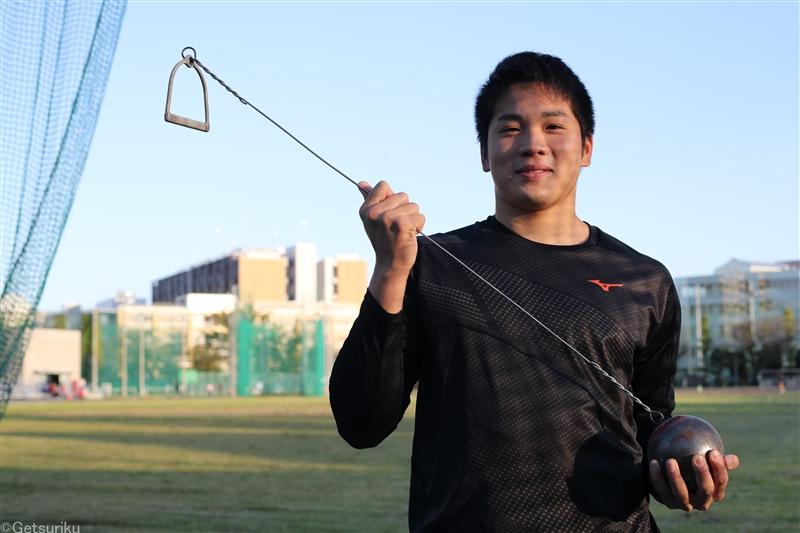 Rising Star Athlete 福田翔大 輝き始めたハンマー投期待の大器