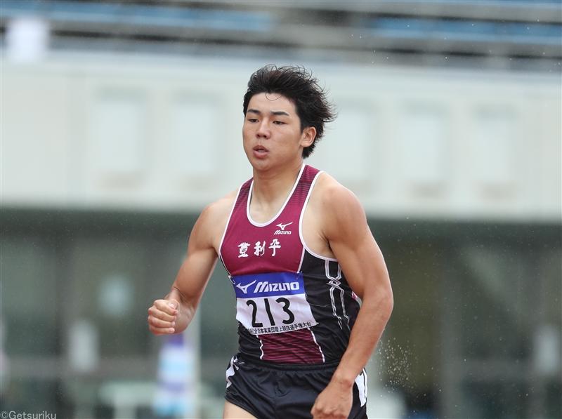 【400m】小渕が今季日本ランキングトップの45秒78 /デンカチャレンジ