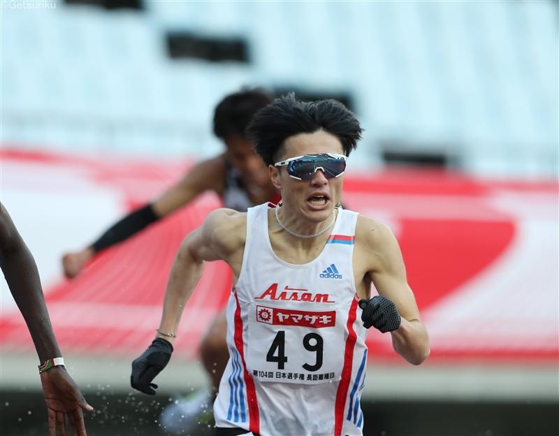 【長距離】山口浩勢が男子3000m障害初優勝 五輪内定まであと2秒届かず/日本選手権