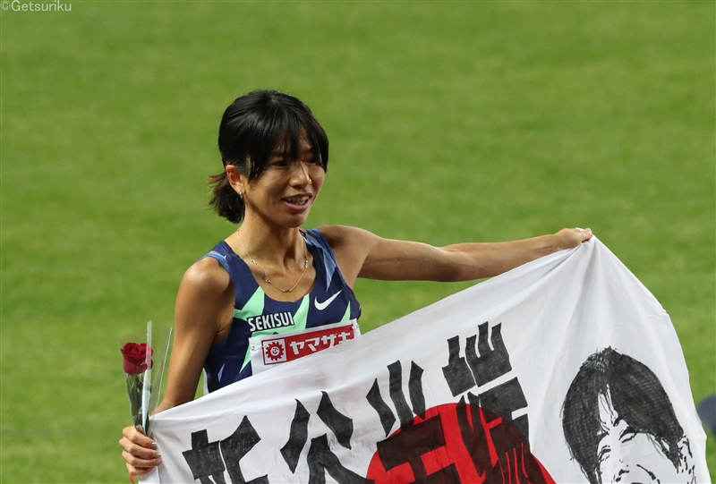 【長距離】新谷仁美が30分20秒44!日本記録28秒以上も更新して五輪内定/日本選手権