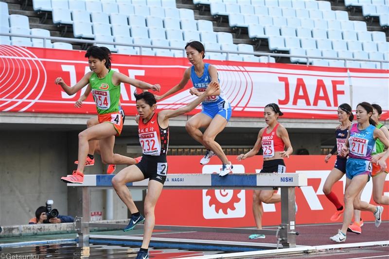 【長距離】日本選手権女子3000m障害で障害物の高さがレース中に変わっていたことが判明