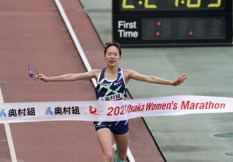 一山麻緒が体調不良から急仕上げでセカンド記録日本最高!五輪へ「最高の準備を」/大阪国際女子マラソン