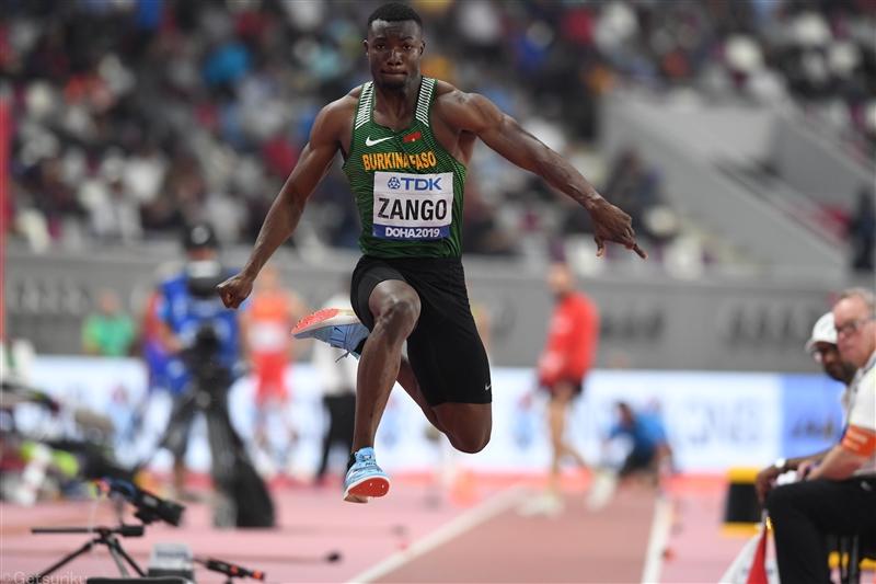 三段跳・世界選手権銅のザンゴが18m07で10年ぶり室内世界新 室内初18m超