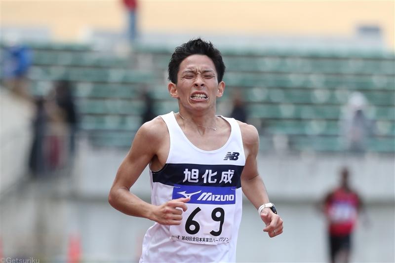 実業団ハーフ市田孝が日本歴代4位の60分19秒で日本人トップの2位