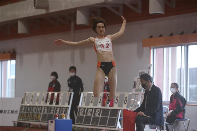 走幅跳・秦澄美鈴が6m35でシーズンイン飾る 男子走幅跳は嶺村が7m73でV/JAG大崎室内