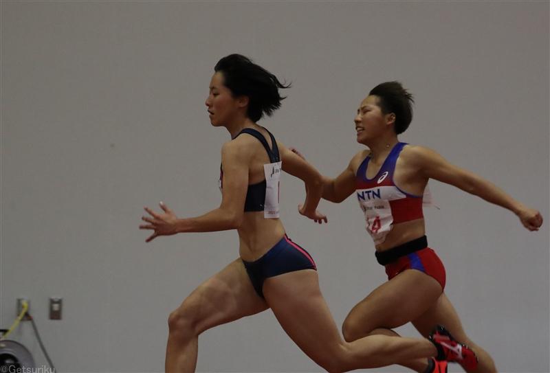 200m女王・鶴田玲美が地元鹿児島で初戦100m11秒80「キレはこれから」/JAG大崎室内