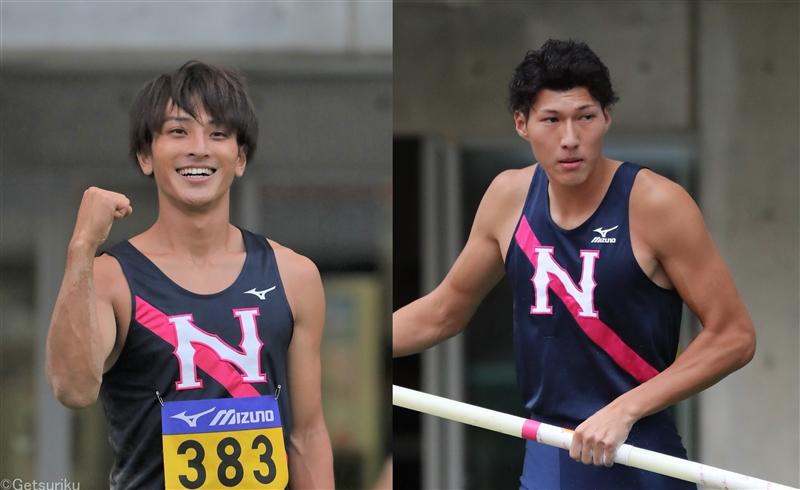 日大・橋岡優輝&江島雅紀が富士通へ! 日本代表跳躍コンビがそろって名門入り
