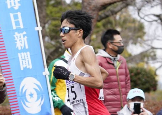 鈴木健吾が2時間4分56秒!! 大迫の記録超え、日本人初の2時間4分台/びわ湖毎日マラソン