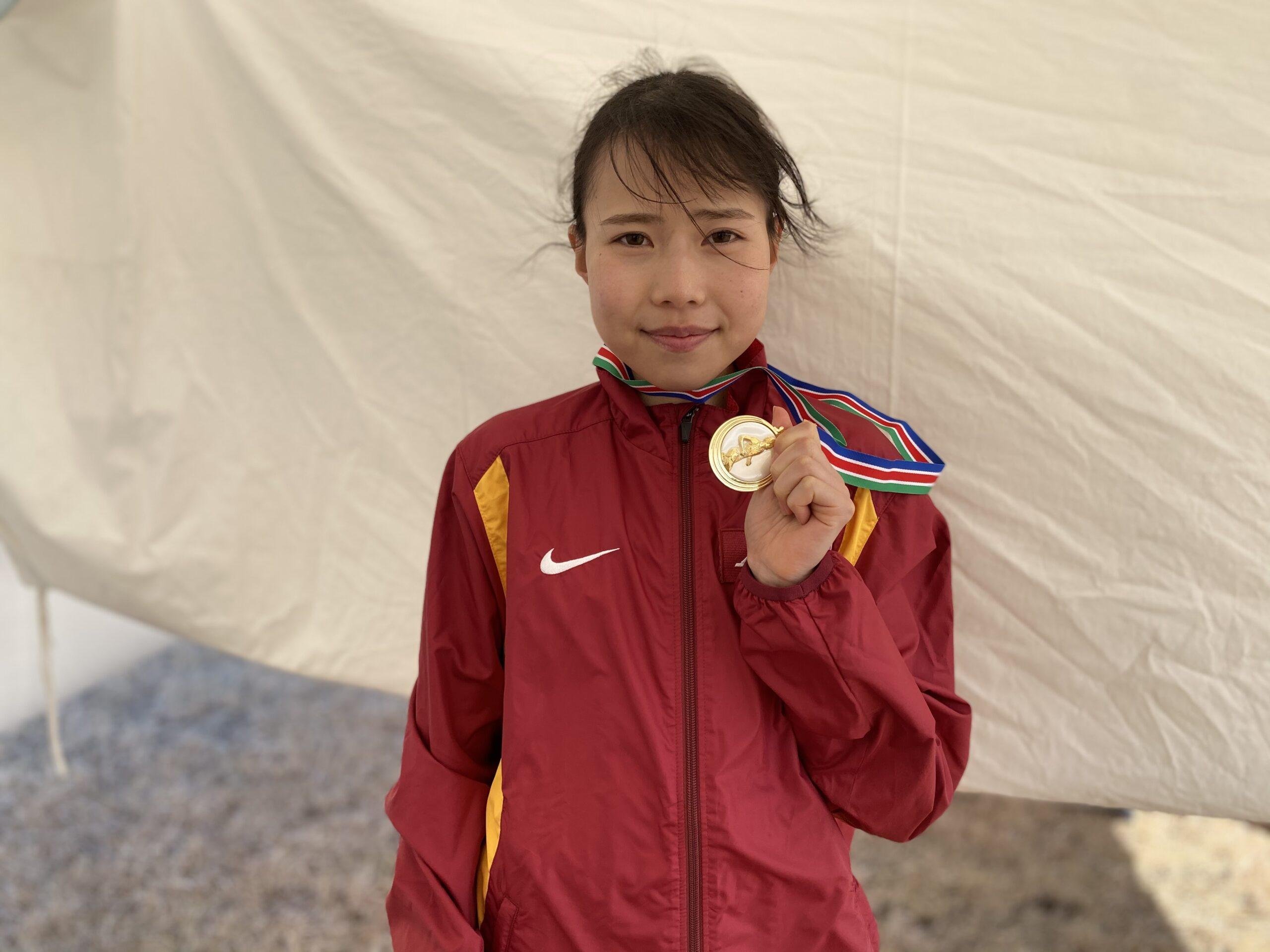 名城大・小林成美 勝因は「ユニバに行きたいという気持ち」/第24回日本学生女子ハーフマラソン