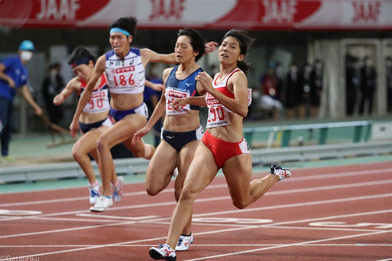 ALL for TOKYO2020+1 Women Sprint Special 兒玉芽生 自分の理想を追求して世界へ――