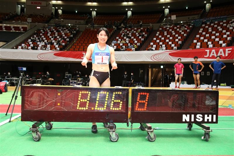 青木益未が60mH予選で8秒06の室内日本新&室内アジア歴代4位タイ/日本選手権室内