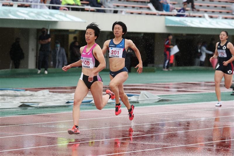 クローズアップ/齋藤愛美が200m23秒62進化を示した学生最後のシーズンイン