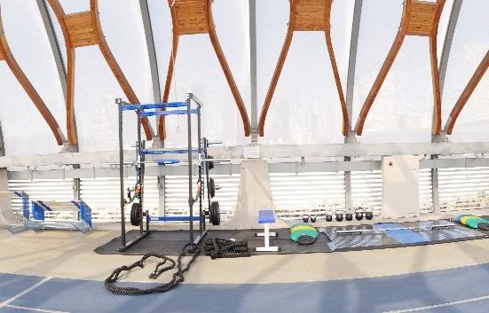ニシ・スポーツが新豊洲Brilliaランニングスタジアムのトレーニング機器・用具をサポート/PR