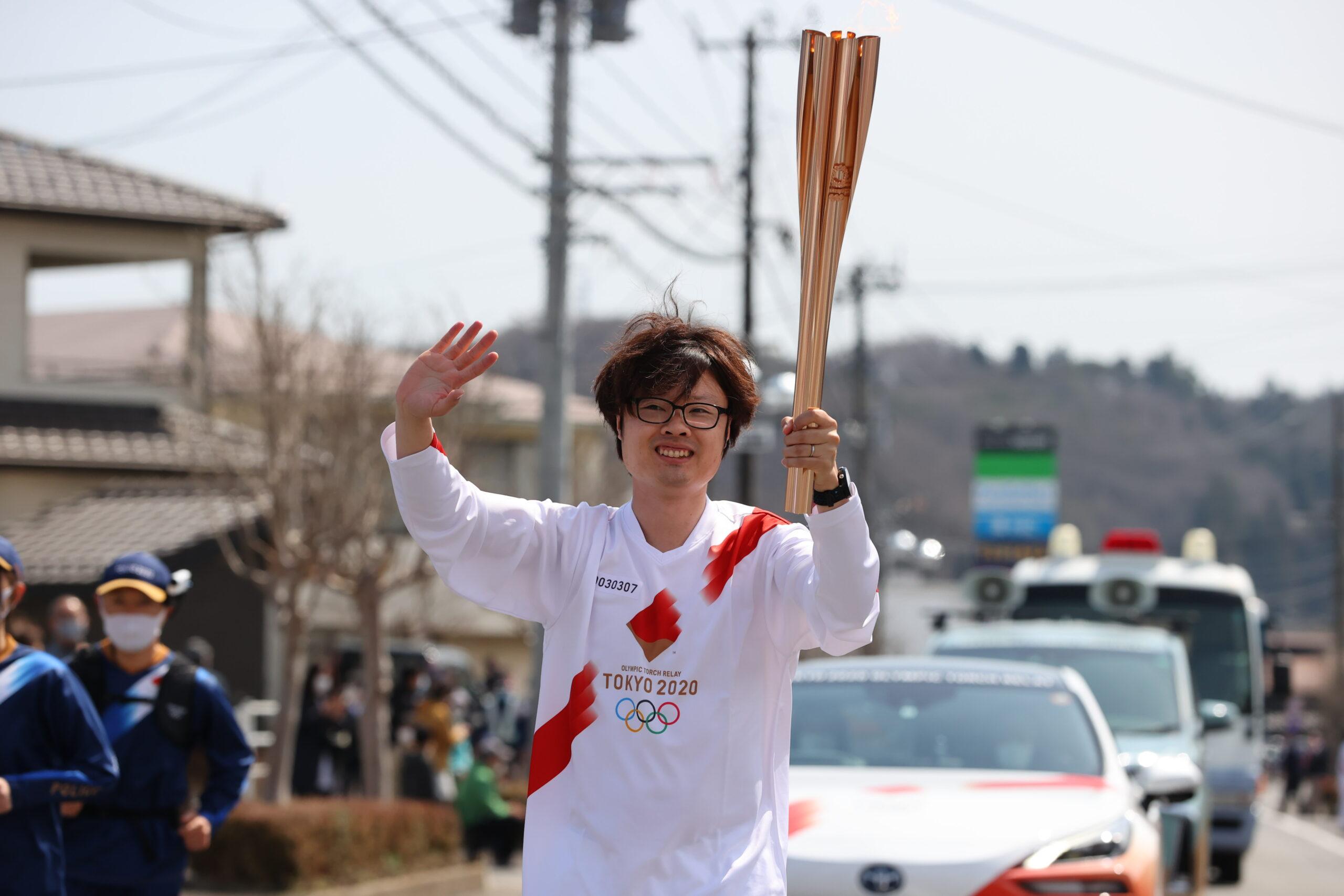 藤田敦史氏、柏原竜二氏が地元・福島で東京五輪聖火リレーランナー務める